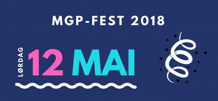 Velkommen til MGP-fest 2018!